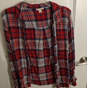 2 flannels together